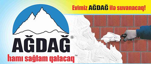 """""""AĞDAĞ"""" DİREK GİPS VƏ PERLİT ƏSASLI ASTAR SUVAĞI"""